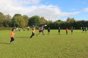 Not actually a picture from BOB, but it is a picture of freshers playing on Varsity Pitches. Close enough.