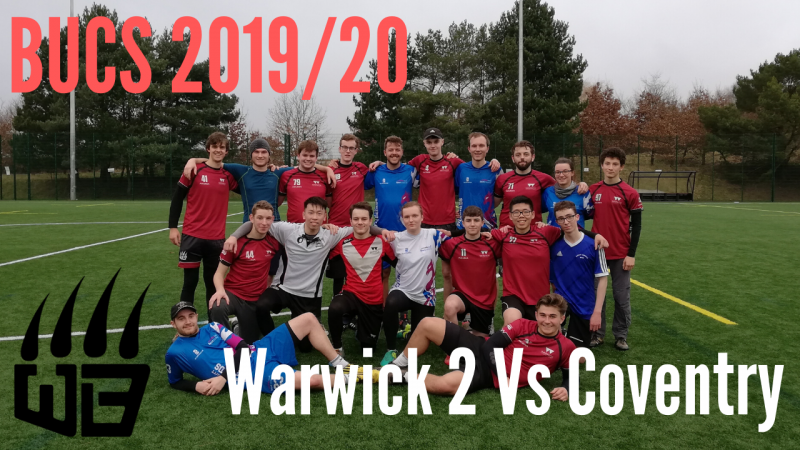 BUCS Report – 22nd January 2020